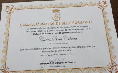 CBH recebe homenagem nos 50 anos da Fecemg
