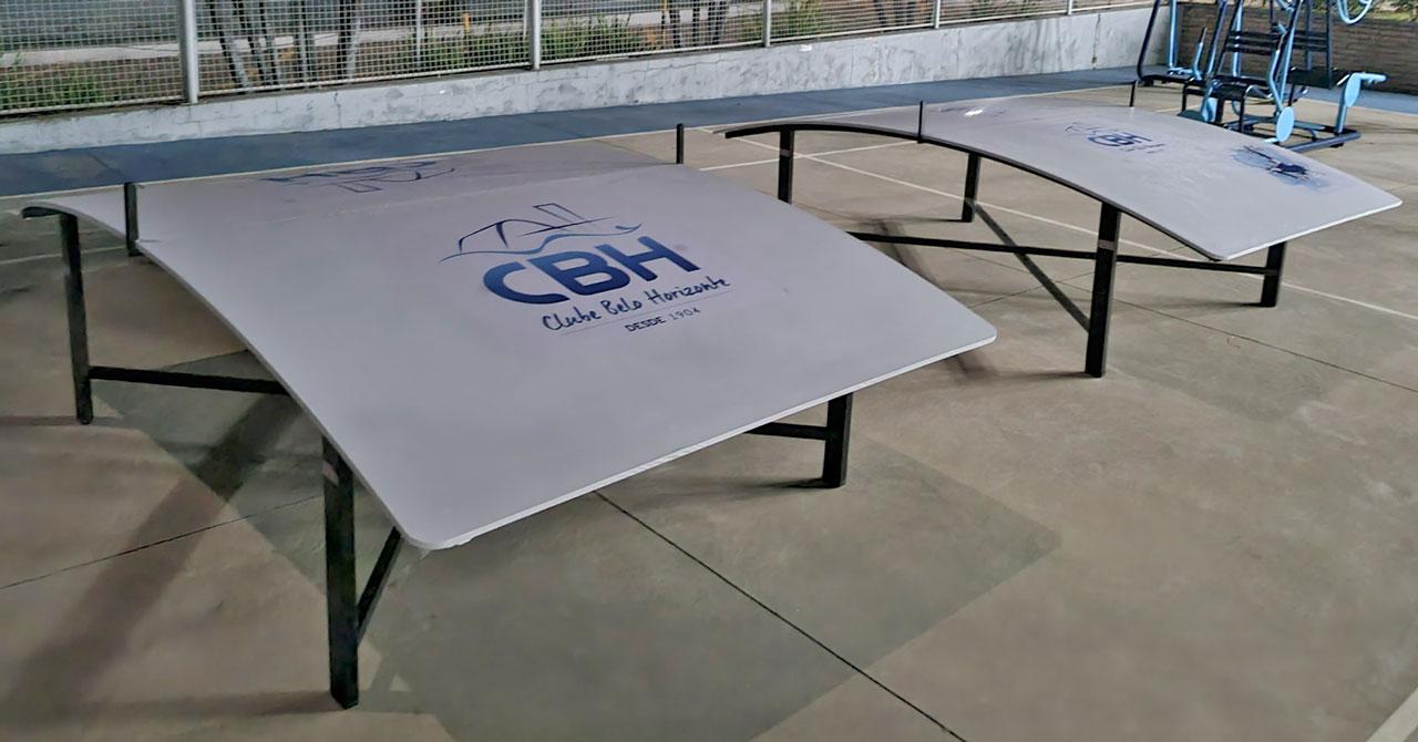 Futmesa: o CBH agora tem mesas para a prática da modalidade