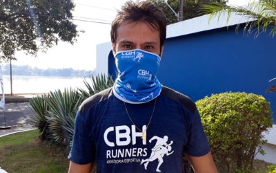 CBH Runners treina para maratona na orla da Lagoa