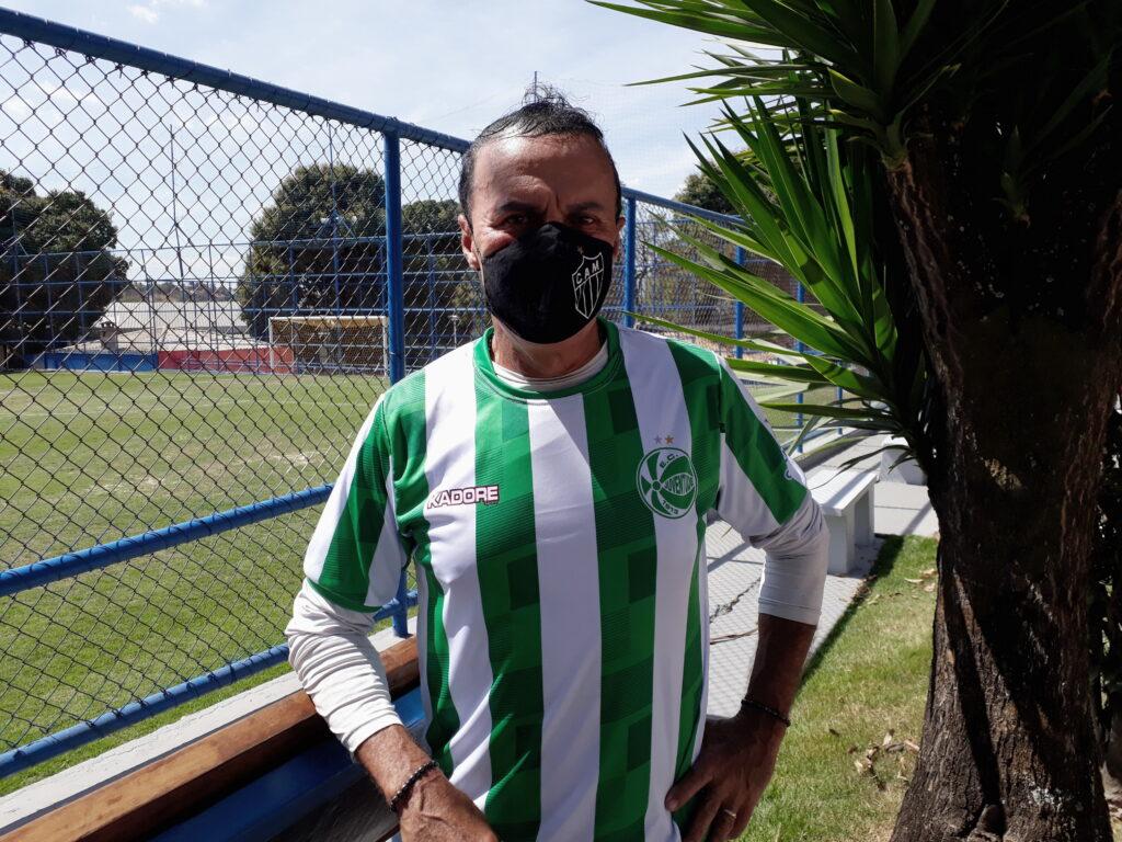 Natanael Araujo (Nato), capitão do time do Juventude