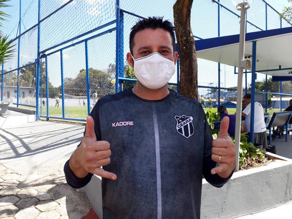 Edimar Nogueira de Freitas (Edinho), jogador do Ceará