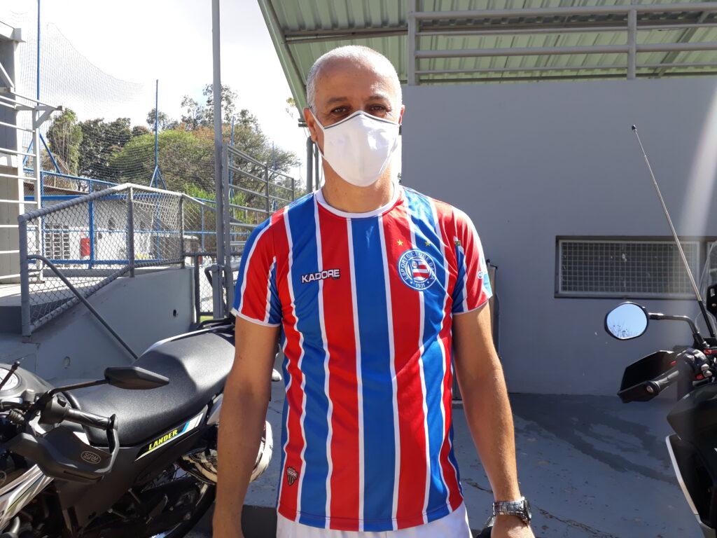 Ralph Mattar, que joga na zaga no time do Bahia