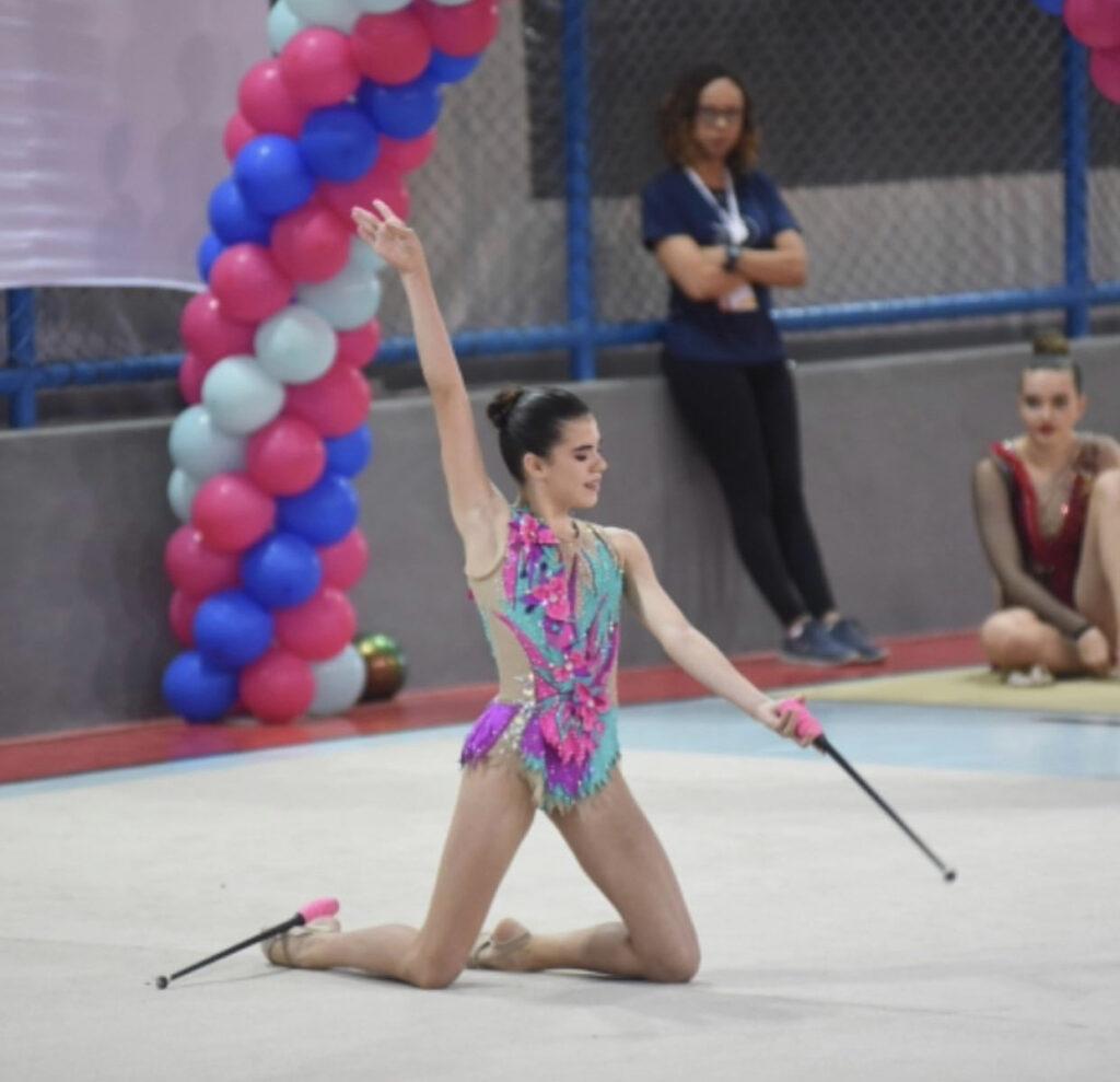 Ana Clara, competição no CBH, 2019