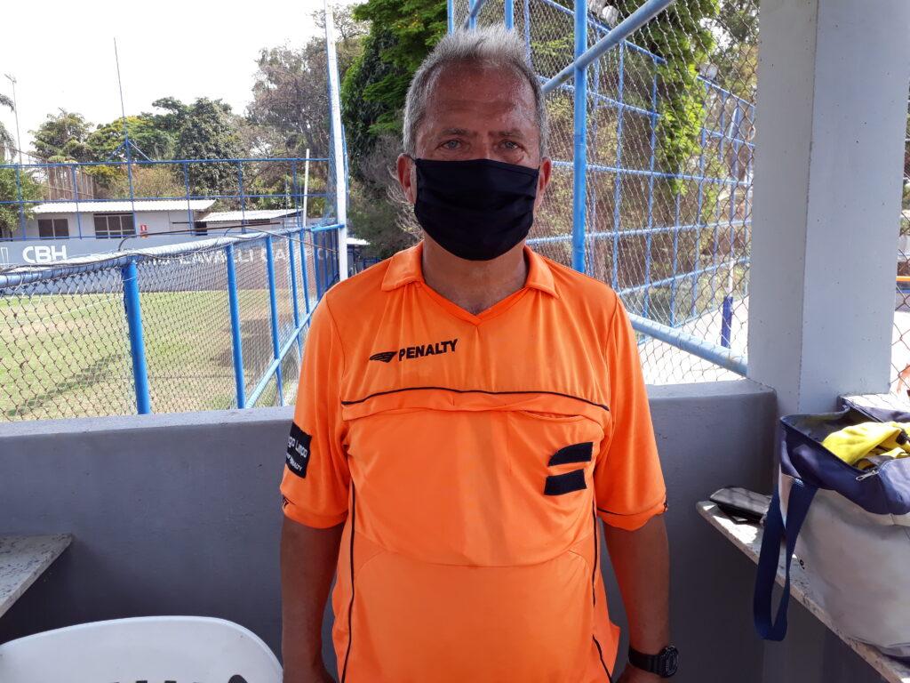 Rodrigo Otávio Baeta, juiz dos três jogos nesta 2ª rodada do Sênior
