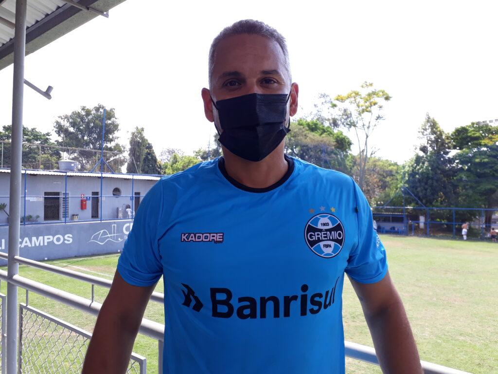 Fabiano Chatin, atacante do Grêmio