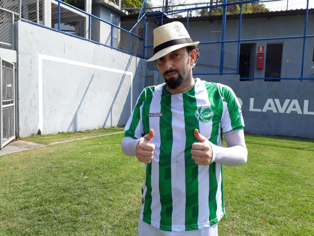 Rafael Resenha, atacante do Juventude