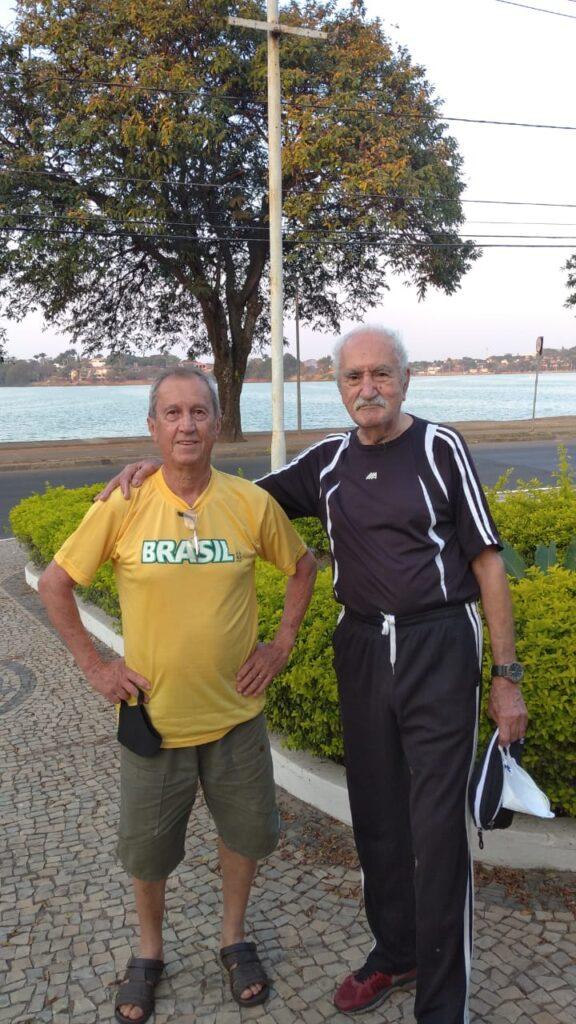 Euzebio e seu amigo Chico