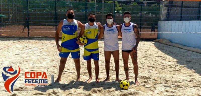 Atletas do AABB e do Clube Belo Horizonte